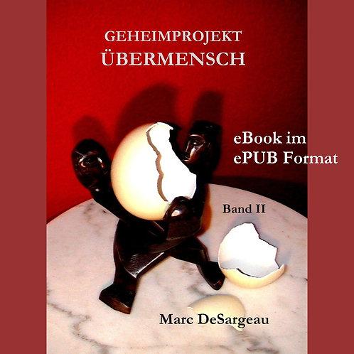 eBook (ePUB), Geheimprojekt Übermensch, Band 2