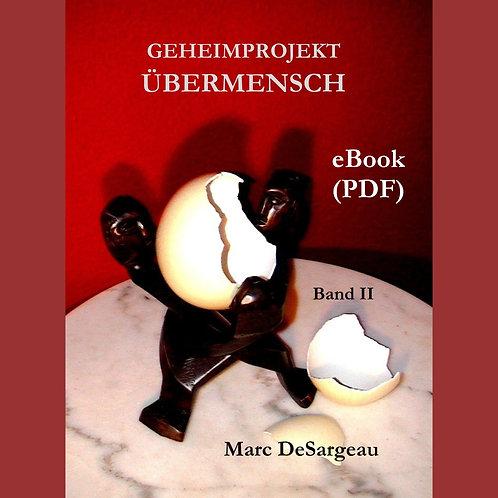 eBook (PDF) Geheimprojekt Übermensch, Band 2
