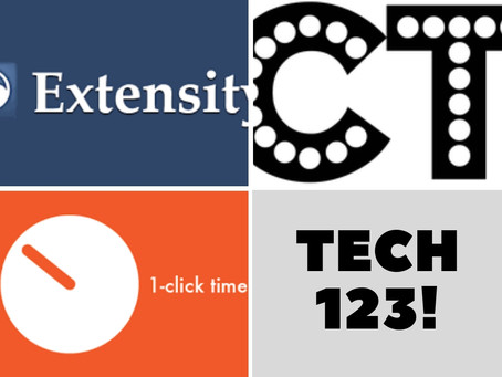 Extensity, CraftyText, Tab Scissors/Tab Glue, and 1-Click Timer