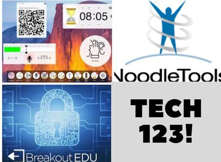 ClassroomScreen, Noodletools, Digital Breakouts