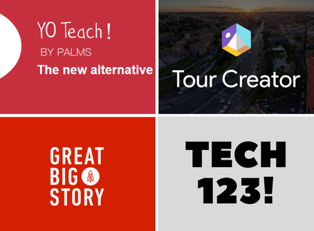 Great Big Story, Google Tour Creator, and YO Teach!