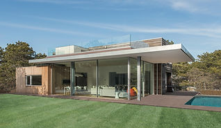 modern home in Amagansett NY