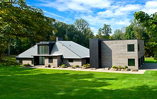 contemporary home in Greenwich CT