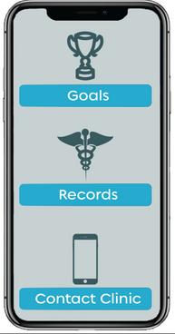 Prototype of Caregiver App - Home