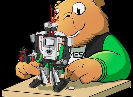 A Robótica acompanhada à LEGO®  Education.