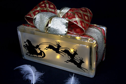 Small Christmas Light Block