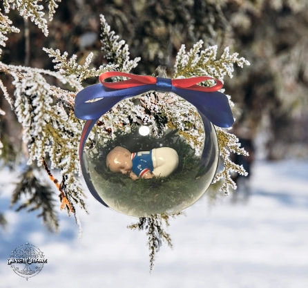 Christmas Baby Baubles