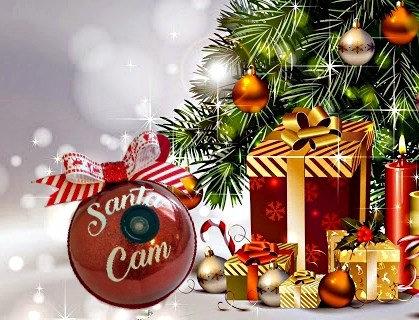Santa/Elf Cam Bauble