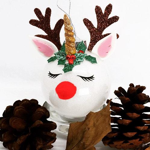 Reindeer Unicorn Baubles
