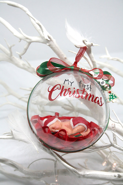 'My First Christmas' Bauble