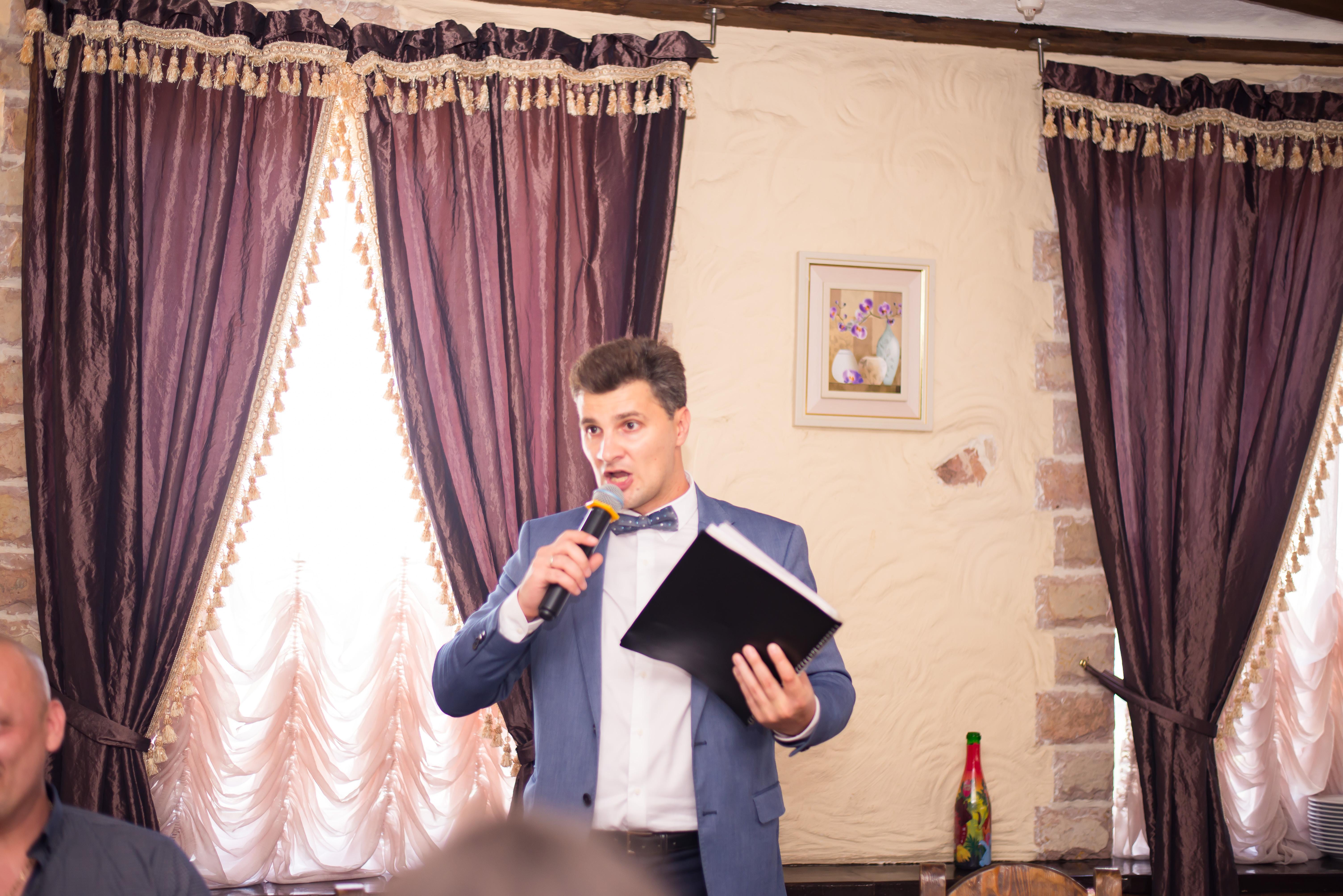 Ведущий на свадьбу- Олег Гончаров