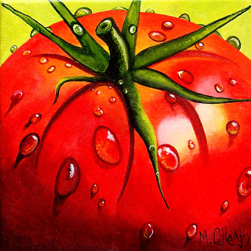 Tomatoes/Canvas Painting/ Giclée/Reproduction