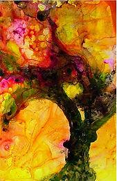 Arbre des Merveilles/ Painting/ Large canvas/ Reproduction