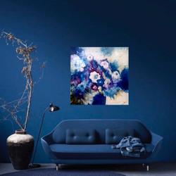 Blue Gardenias