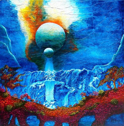 Big Bang/ Painting/ Large canvas/ Reproduction