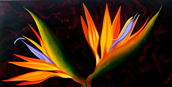 Panache/ Canvas painting/reprofuction/Giclee
