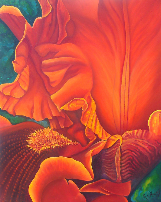 Froufrou-Canvas/ Painting/ Large canvas/ Reproduction