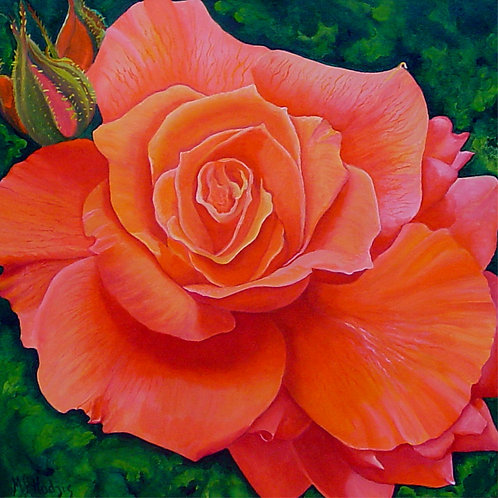 Coralie/Canvas Painting/ Giclée/Reproduction
