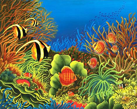Merveille des Oceans/Painting/Giclée