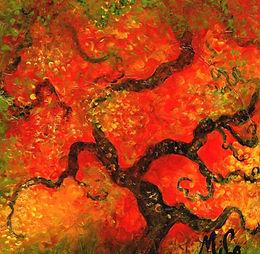 Ayaka/Canvas Painting/ Giclée/Reproduc