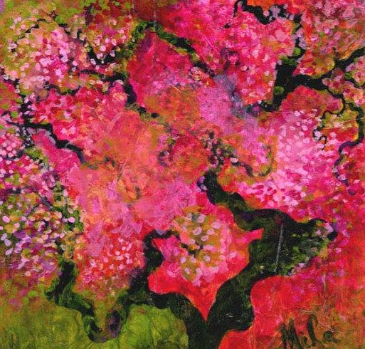 Madoka/Canvas Painting/ Giclée/Reproduc