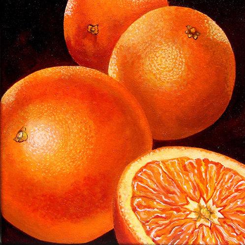 Oranges/Canvas Painting/ Giclée/Reproduction