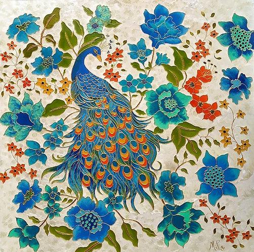 Sultan/Peacock Art/Giclée print/Reproduction