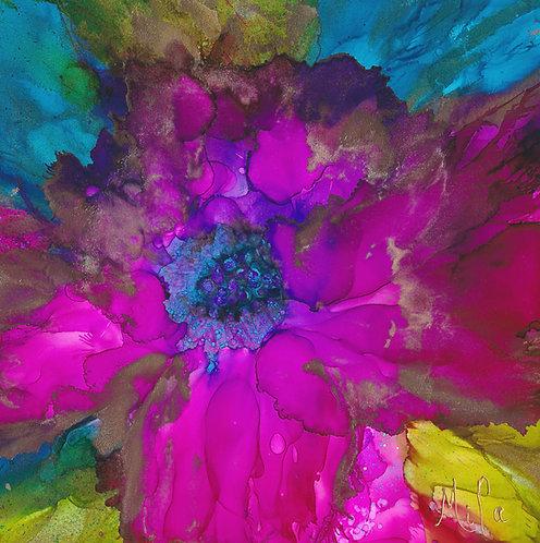 Rosalie/Canvas Painting/ Giclée/Reproduction