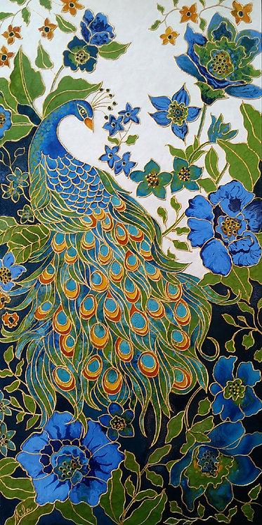 Majesty/ Peacock Giclée Print / Peacocks Art