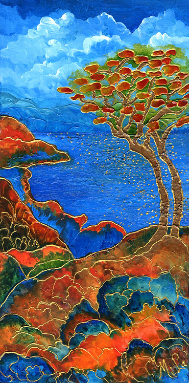 Ruby Land/ Painting/Giclee/Reproduction