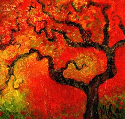 Akina/Canvas Painting/ Giclée/Reproduc