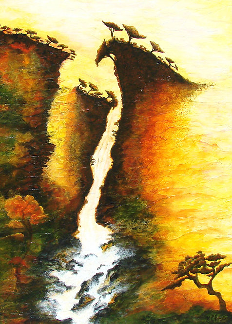 Momentum/ Painting/ Large canvas/ Reproduction