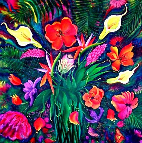 Exotica/Canvas Painting/ Giclée/Reproduc