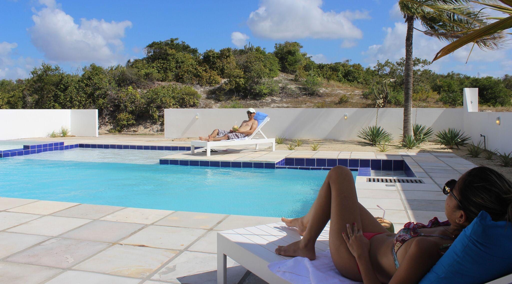 casa de praia com piscina RN Brasil