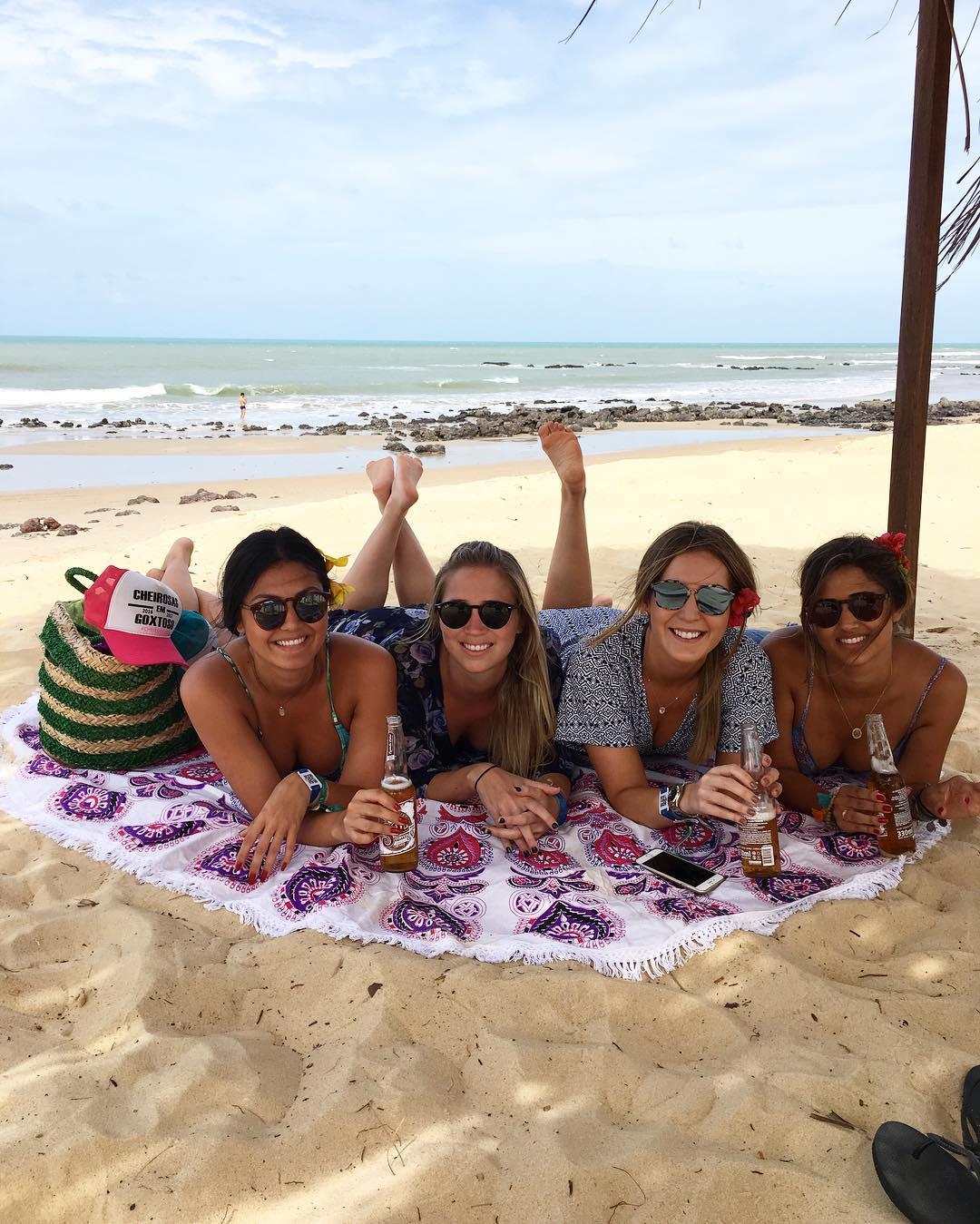 Beira mar do Paraiso do Brasil