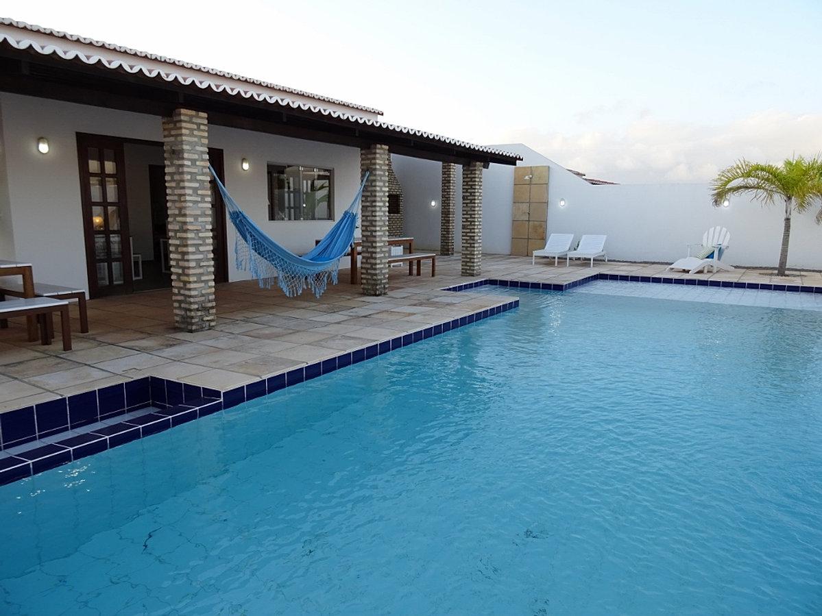 Casa de praia com piscina para temporada e a venda rn - Piscinas para casas ...