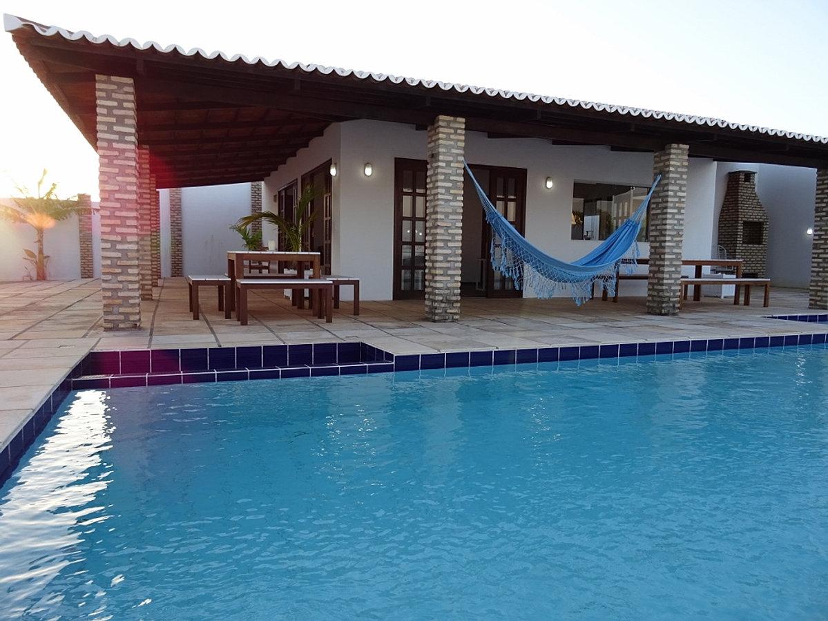 Casa de praia com piscina para temporada e a venda rn for Alberca 8 de julio