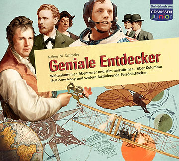 Hubert Warter - Illustration - CD - Entdecker - fliegen - Discoverer - flying
