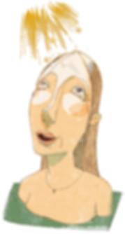 Hubert Warter - Illustration - Freudentränen - Ergriffenheit - weinen - Tränen - Erleuchtung - Verzückung - Ekstase - tears of joy - emotion - weeping - tears - enlightenment - rapture - ecstasy