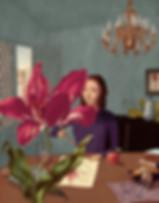 Hubert Warter - Illustration - Blume - Pflanze - Tulpe - malen - Maria Sibylla Merian - flower - plant - tulip - painting