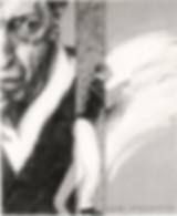 Hubert Warter - Illustration - Zeichnung - Bleistift - Stravinsky - Strawinsky - Musik - dirigieren - Leidenschaft - Portrait - drawing - pencil - Stravinsky - Stravinsky - music - conducting - passion