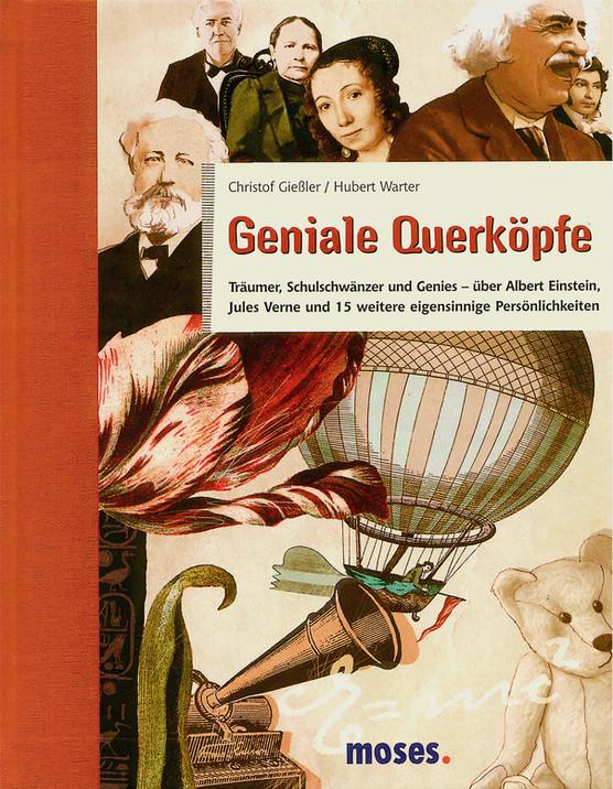 Illustration - Buch - berühmte Pesönlichkeiten - book - famous personalities