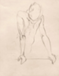 Hubert Warter - Zeichnung - Akt - Aktzeichnung - drawing - nude - nude drawing