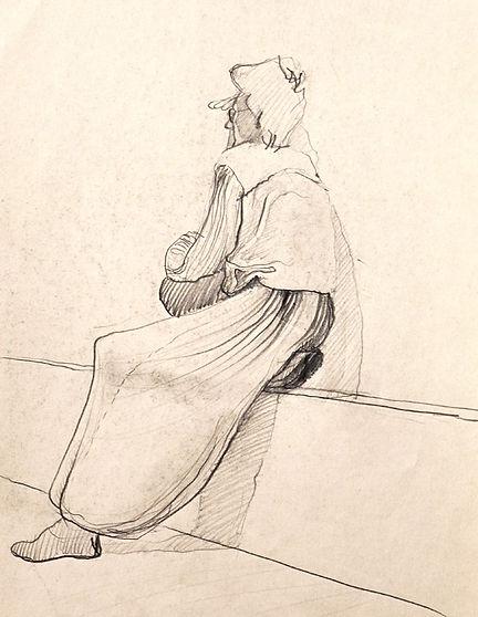Zeichnung - Bleistift - Portrait