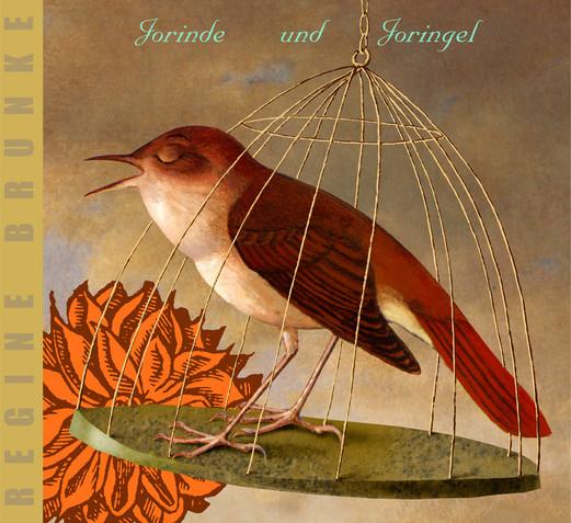 Hubert Warter - Illustration - CD - Vogel - Käfig - Vogelkäfig - eingesperrt - Jorinde und Joringel - Bird - Cage - Birdcage - locked up - Jorinde and Joringel