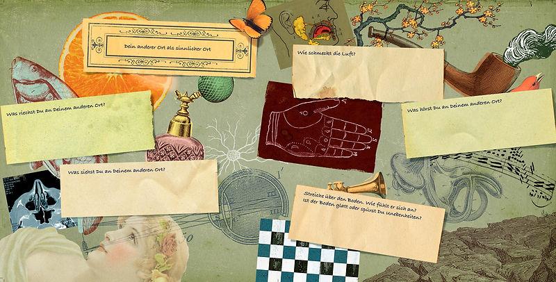 Hubert Warter - Illustration - schreiben - Füller - Duft - Düfte - Sinne - Sinnlichkeit - hören - riechen - sehen - fühlen - Pfeife - Fisch - Trompete - writing - pen - fountain pen - fragrance - scents - senses - sensuality - hear - smell - see - feel - pipe - fish - trumpet