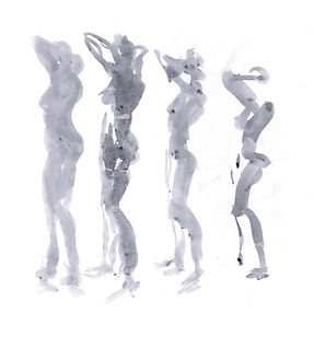 Zeichnung - Akt - Aktzeichnung - drawing - nude - nude drawing