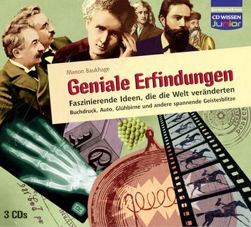Hubert Warter - Illustration - CD - Erfinder - Film - Röntgenbild - Glühbirne - Inventor - Film - X-ray image - Light bulb
