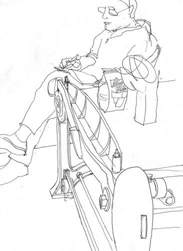 Hubert Warter - Kugelschreiber - ballpoint pen