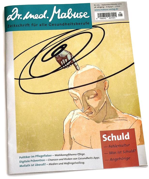 Illustration - Magazin - Zeitschrift - Schuld - magazine - guilt
